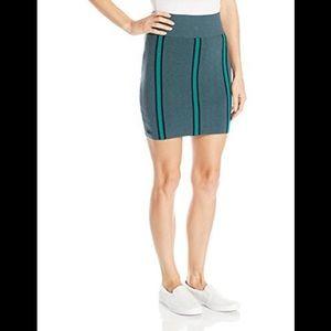 Lacoste striped wool/cotton mini skirt M